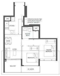 Parc-Esta-Floor-Plan-2BR-B3-635sqft